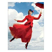 Хардпостер (на твёрдой основе) Mary Poppins